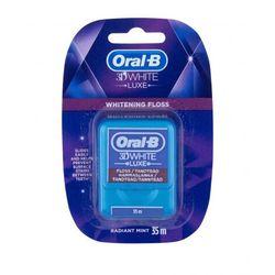 Oral-B 3D White Luxe nitka dentystyczna 1 szt unisex