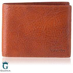 Banknotówka valentini z karbowanej skóry naturalnej 159-320 rfid