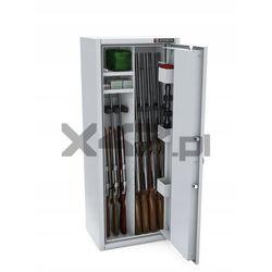 Szafa na broń długą MLB 125P/4+4 CL S1 Konsmetal - zamek szyfrowy
