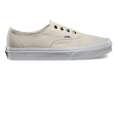 Damskie obuwie sportowe, buty VANS - Authentic Gore (Studs) White (FM3)