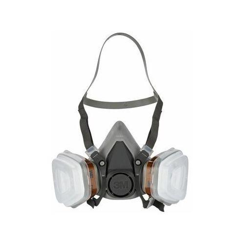 Ochronne nakrycia głowy, Półmaska wielokrotnego użytku A2P2 6002C 3M