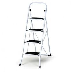 Składane schodki metalowe, 4 stopnie, 930 mm