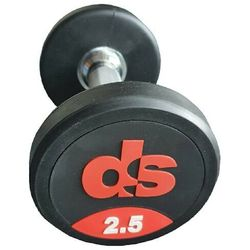 Hantel ogumowany DS 20 kg
