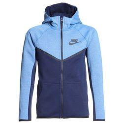 Nike Performance HOODIE Bluza rozpinana aegean storm/htr/black/anthracite