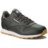 Buty sportowe dla dzieci, Buty Reebok - Classic Leather CN5613 Dark Cypress/White