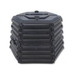 Ekokompostownik EKOBAT Termo XL-950 Czarny + Skorzystaj z kodu rabatowego! + DARMOWY TRANSPORT!