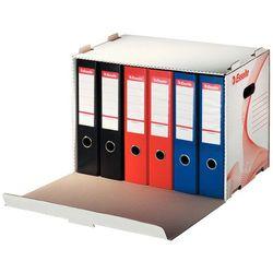 Pudło archiwizacyjne otwierane z przodu na segregatory Esselte białe (525x338x306)
