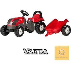 Rolly toys rollykid traktor na pedały valtra z przyczepką 2-5 lat