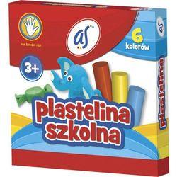 Plastelina szkolna As 6kol. 83811909