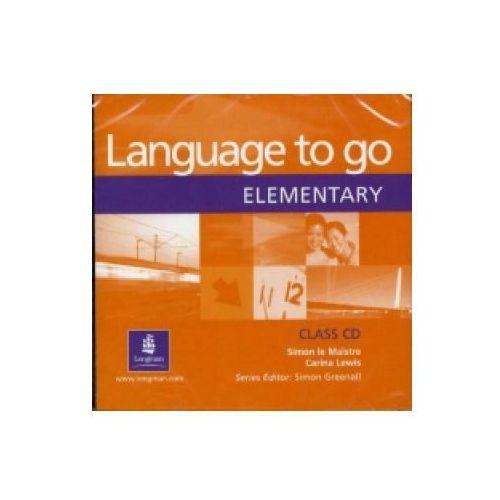 Książki do nauki języka, Language to Go Elementary. CD do Podręcznika (opr. twarda)