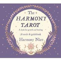 Książki do nauki języka, The Harmony Tarot. A deck for growth and healing - Nice Harmony - książka (opr. miękka)