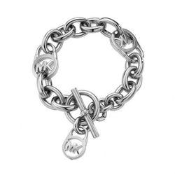 Michael Kors HERITAGE Bransoletka silvercoloured