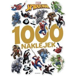 SPIDER-MAN 1000 NAKLEJEK 9788328137462