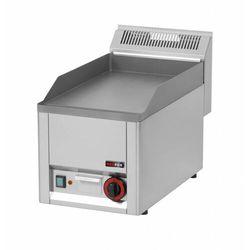 Płyta grillowa elektryczna gładka | 320x480mm | 3000W | 330x600x(H)290mm