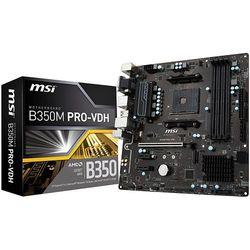 Płyta główna MSI B350M PRO-VDH, B350, DDR4, SATA3, USB 3.1 gen.1, uATX (7A38-003R) Darmowy odbiór w 21 miastach!