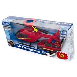 Teama helikopter i auto Straży Pożarnej 1:48