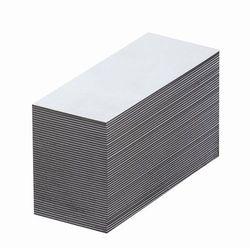Magnetyczna tablica magazynowa, białe, wys. x szer. 30x80 mm, opak. 100 szt. Zap
