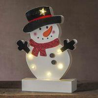 Ozdoby świąteczne, Oświetlenie dekoracyjne LED bałwan Freddy