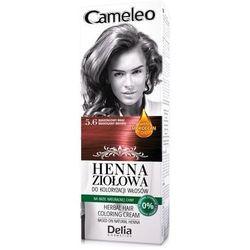 Cameleo Henna Ziołowa do koloryzacji włosów 5.6 Mahoniowy Brąz