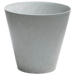 Doniczka Tubus Beton Prosperplast : Średnica - 400 mm, Kolor - Beton