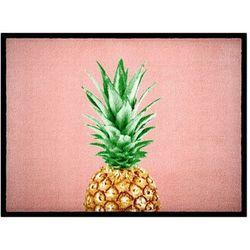 """Wycieraczka """"Ananas"""" bonprix jasnoróżowy"""