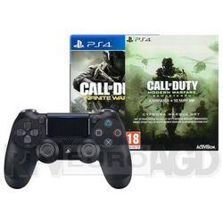 Sony DualShock 4 v2 (czarny) + 2 gry - produkt w magazynie - szybka wysyłka!