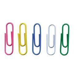 Spinacze okrągłe OFFICE PRODUCTS, 28mm, 500szt., w woreczku, mix kolorów