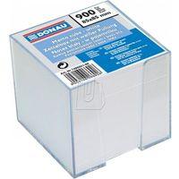 Pozostałe artykuły papiernicze, Kostka do notowania Donau 85mm x 85mm biała nieklejona, w pojemniku