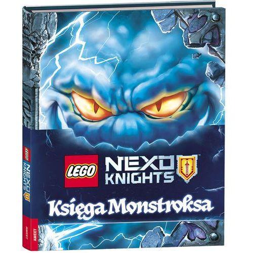 Książki dla dzieci, Lego Nexo Knights Ksiega Monstroksa (opr. twarda)