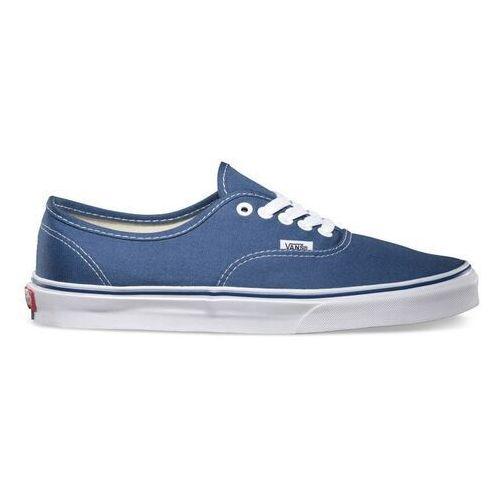 Męskie obuwie sportowe, buty VANS - Authentic Navy (navy) rozmiar: 34.5
