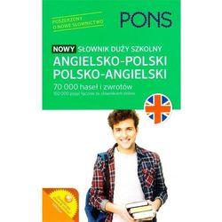 Nowy słownik szkolny Duży angielsko-polski polsko-angielski (opr. miękka)