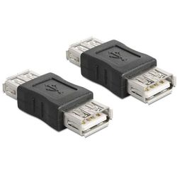 Adapter USB Delock USB A - USB A (gniazdo-gniazdo) (65012)