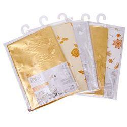 VERONI Obrus ceratowy GOLD&SILVER 100 x 140 cm - mix wzorów