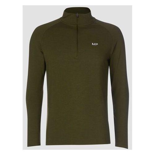 Pozostała odzież sportowa, MP Men's Performance 1/4 Zip Top - Army Green Marl - XXL
