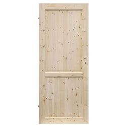 Drzwi pełne Radex Lugano 80 lewe sosna surowa