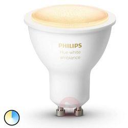 LED Żarówka ściemnialna Philips HUE WHITE AMBIANCE 1xGU10/5,5W/230V