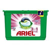 Pozostałe do prania, Żelowe kapsułki piorące Ariel With A Touch Of Lenor For Softness 418 g (14 sztuk)