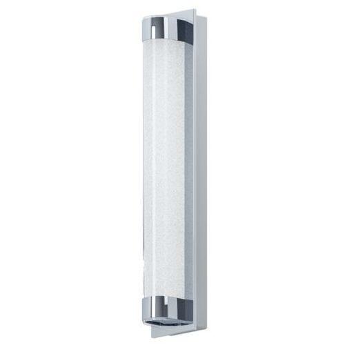 Lampy ścienne, Kinkiet Eglo Tolorico 97054 lampa ścienna 1x8W LED IP44 chrom / przezroczysty