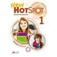 Książki do nauki języka, Hot Spot New 1 WB + CD MACMILLAN (opr. broszurowa)