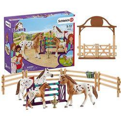 Zestaw treningowy koń appaloosa