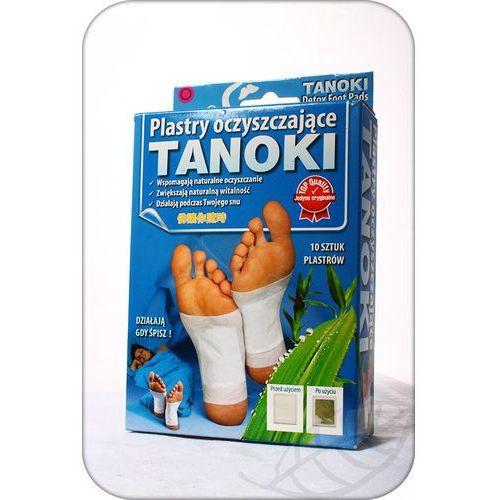 Detox i oczyszanie organizmu, Plastry Gold Detox Tanoki 10 szt.