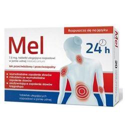 Mel 7,5mg tabletki ulegające rozpuszczeniu w jamie ustnej 10 szt.