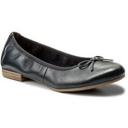 Baleriny TAMARIS - 1-22116-20 Navy Leather 848