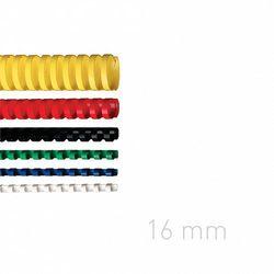 Grzbiety plastikowe O.COMB 16mm niebieskie 100szt./op. OPUS