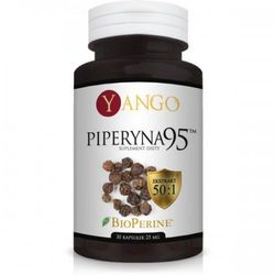 Piperyna 95 - ekstrakt (30 kapsułek) YANGO