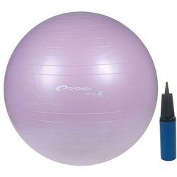 SPOKEY FITBALL - 86169 OUTLET - Piłka gimnastyczna 55 cm - jasny fiolet