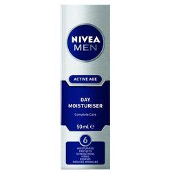 Nivea Men Active Age Day Moisturiser krem do twarzy na dzień 50 ml dla mężczyzn