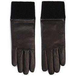 Rękawiczki Damskie CALVIN KLEIN - Cuff Leather Gloves Giftpack K60K605993 BAE