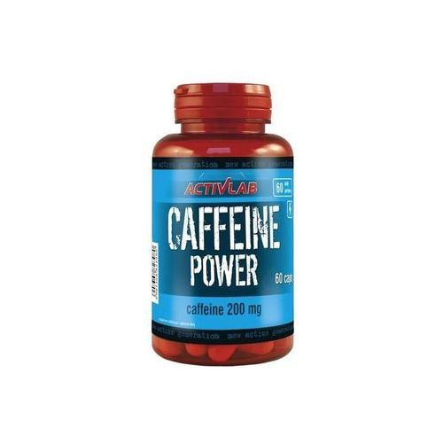 Pozostałe odżywki dla sportowców, Activlab Caffeine Power 60 tabl.