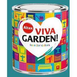 Emalia akrylowa Altax Viva Garden niebieska funkia 0,75 l